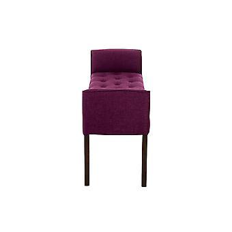 Nojatuoli - Nojatuolit - Moderni violetti puu 128 cm x 43 cm x 64 cm