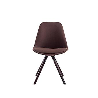 Esszimmerstuhl - Esszimmerstühle - Küchenstuhl - Esszimmerstuhl - Modern - Braun - Holz - 48 cm x 56 cm x 84 cm