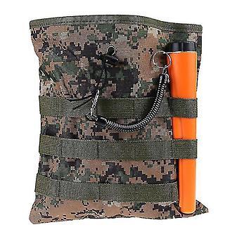 Metal detectors drawstring digger pouch finds luck bag camo pick up waist pocket belt gold nugget bags camo for