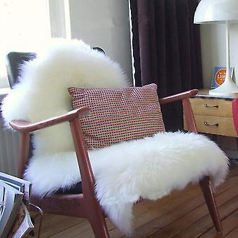 super myk faux saueskinn stol & gulv fluffy teppe
