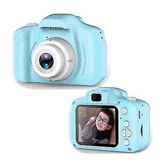 Copii Digital Aparat de fotografiat Mini Cartoon reîncărcabile Aparat de fotografiat video cu 2 inch Ips Ecran 16GB SD Card pentru copii toddler Camera video de ziua de nastere
