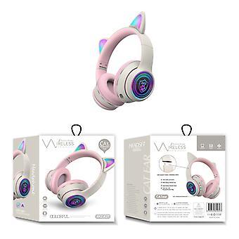 Bluetooth & met microfoon & comfortabel & led licht draadloze Bluetooth hoofdtelefoon