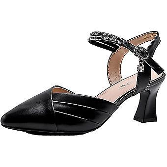 Anter kvinners sandaler-spiss tykk hæl mote sandaler