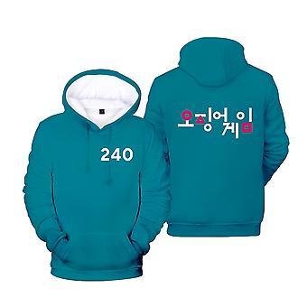 Ywy1 Squid Game Actor's Jacket Hooded Sweatshirt
