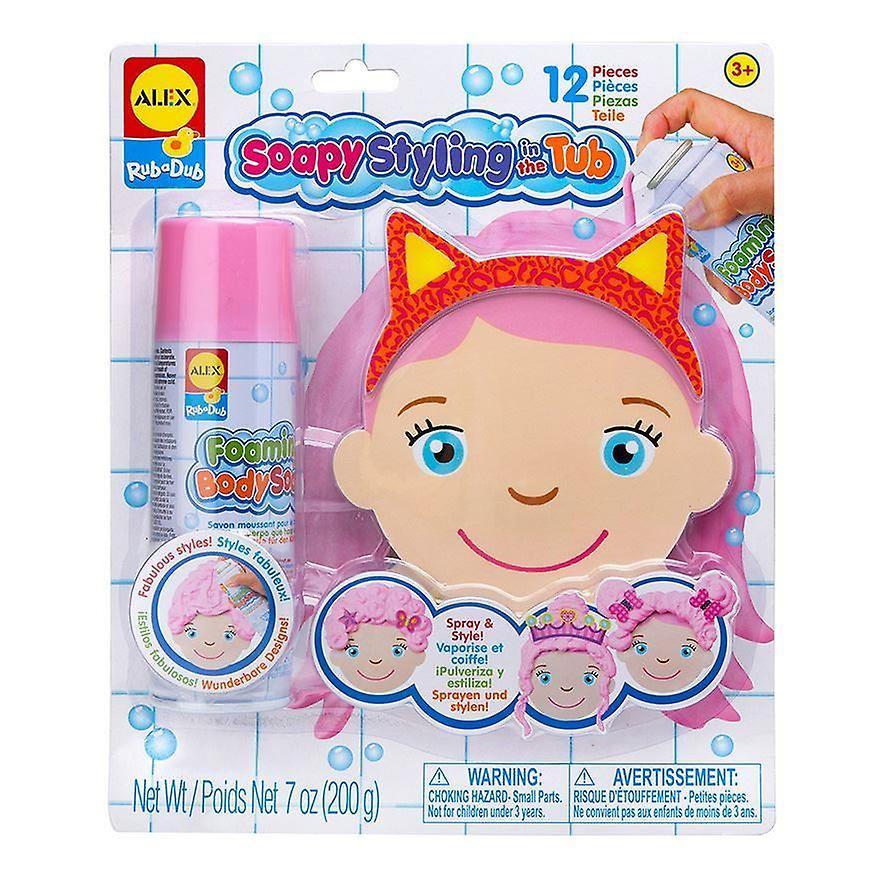 Alex RubaDub Soapy Styling in the Tub 12 pcs 3 yrs+