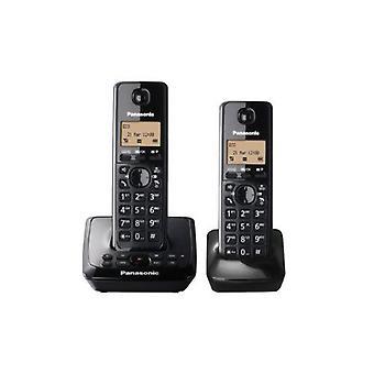 Téléphone sans fil Panasonic KX-TG2722EB Twin DECT sertie avec répondeur