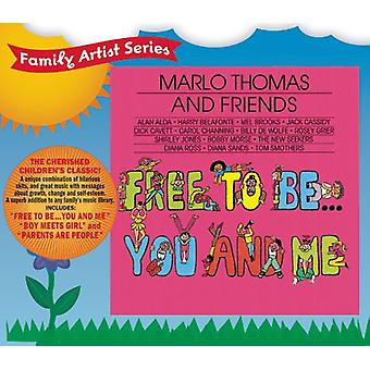 Marlo Thomas - vrij om te worden: U & Me [CD] USA import