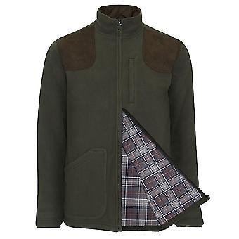 Mester menn Thornton Country Estate sjekk foret Fleece jakke