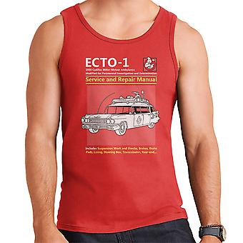 Ghostbusters Ecto1 Service And Repair Manual Men's Vest