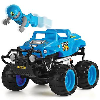 Monster Smash Ups Remote Control Race RC Truck - Rhino