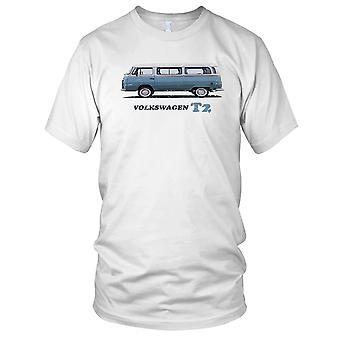 VW T2 Camper Van Classic Car Kids T Shirt