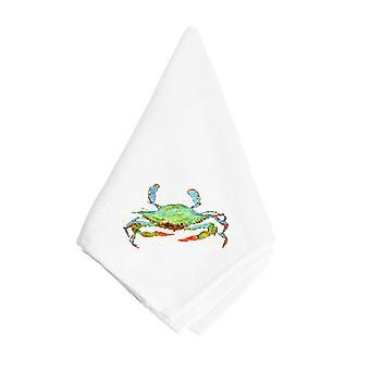Carolines trésors 8357NAP lumineuse crabe bleu vert serviette