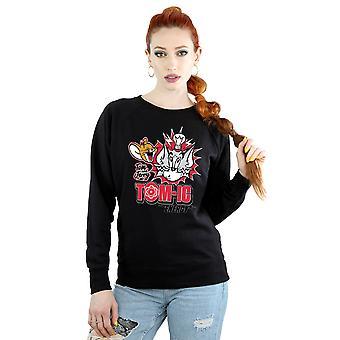 Tom och Jerry kvinnors Tomic energi Sweatshirt