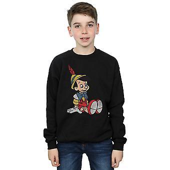 ディズニー男の子ピノキオ古典的なピノキオ トレーナー