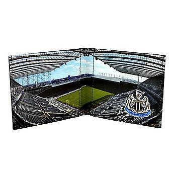 Newcastle United FC offizielle Stadion-Design-Leder-Geldbörse