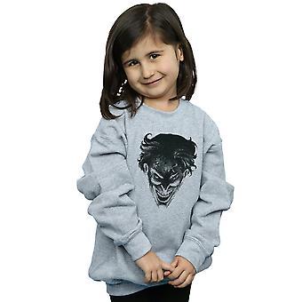 DC Comics Girls The Joker Spot Face Sweatshirt