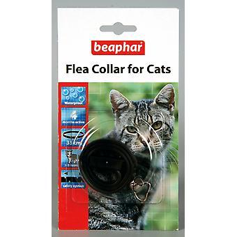 Kat van Beaphar vlooienband, Plastic kraag zwart - Valentina Valentti UK