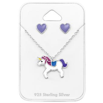 Unicorn - 925 Sterling Silver Sets - W33935x