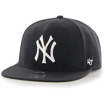 Casquette Snapback - marine des Yankees de New York sans coup de feu 47