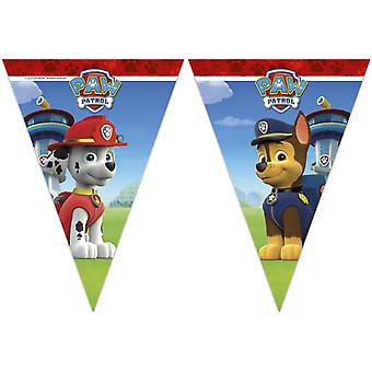 Paw patrol party Garland banner 1 piece children birthday theme party