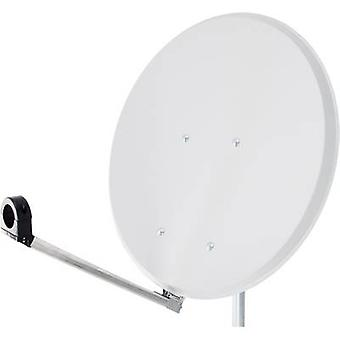 Smart Click-Clack SAT antenna 65 cm Reflective material: Steel White