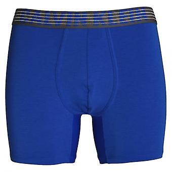 Calvin Klein Performance Breathable Tech Boxer Brief, Muscari Blue, X-Large