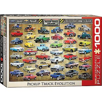 Pick Up Evolution 1000 Piece Jigsaw Puzzle 680 Mm X 490 Mm