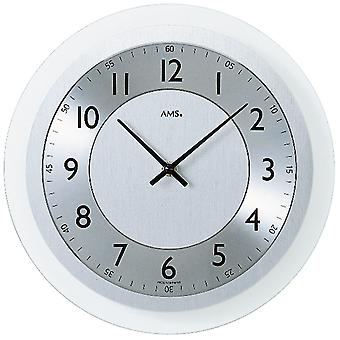 Quartz wall clock quartz wall clock wall clock quartz aluminum dial on mineral glass