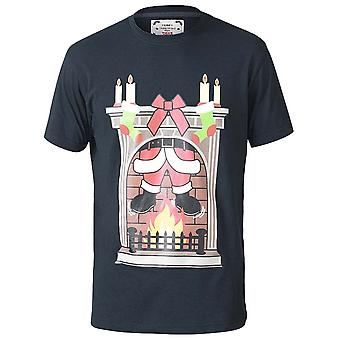 D555 Chimney Christmas Printed T-Shirt