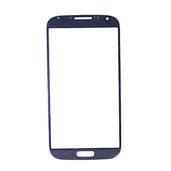 Stuff Certified® Samsung Galaxy S4 i9500 A + Quality Front Glass - Blue
