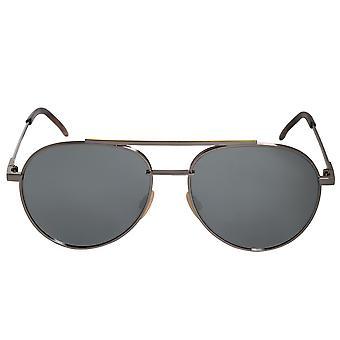 Fendi Pilot Sunglasses FF0222S 6LB T4 56
