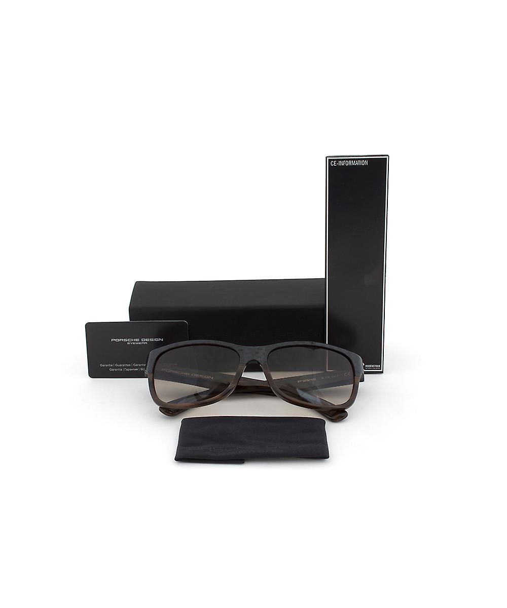 Porsche Design Design P8546 B Sunglasses   Carbon/Brown Frame   Brown Gradient Lens