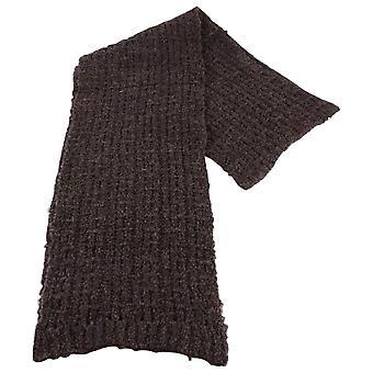Bassin en Brown Gibson Plain textuur sjaal - Brown