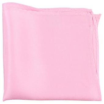 Найтсбридж Neckwear штраф шелковый карман площадь - светло-розовый