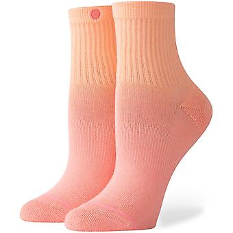 Stance Uncommon Dip Lowrider Ankle Socks in Peach