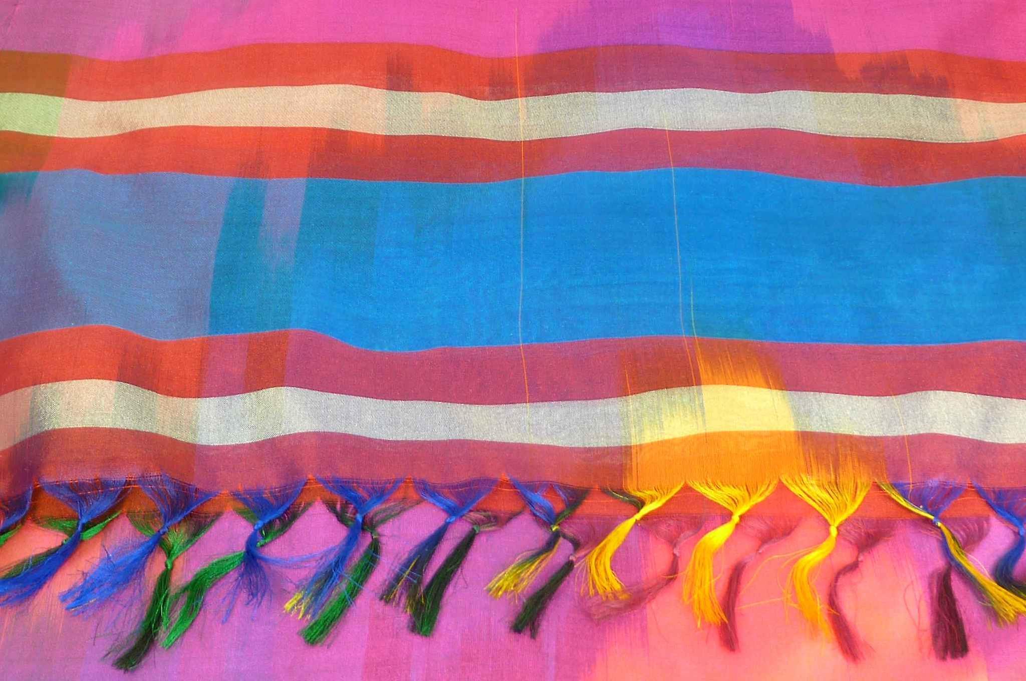 Varanasi Ekal Premium Silk Long Scarf Heritage Range Tiwari 8 by Pashmina & Silk