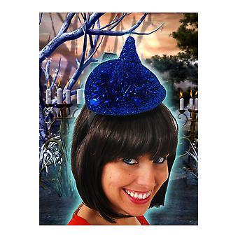 Halloween e horror cappello blu piccola strega