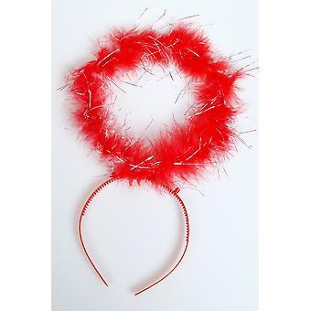Accesorios para el cabello Angel halo rojo