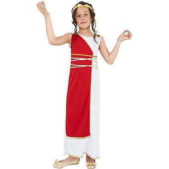 Costume ragazza greca, medio età 7-9
