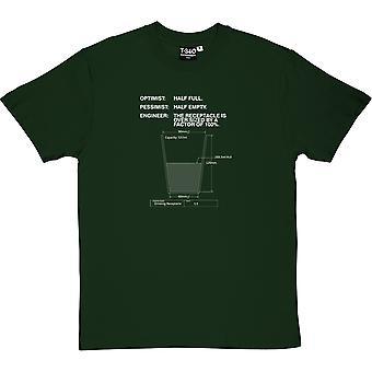 Boire Receptacle Racing Green Men-apos;s T-Shirt