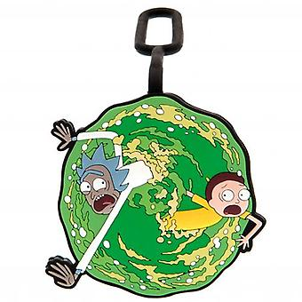 Rick And Morty Luggage Tag