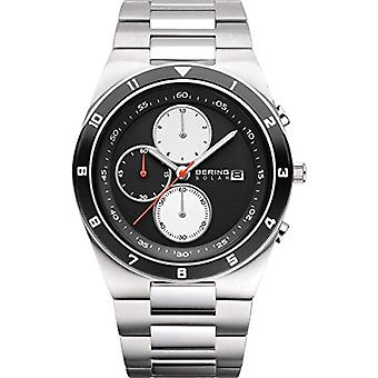 BERING Solar Analog Man with stainless steel strap 34440-702