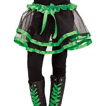 Cinta Tutu infantil verde