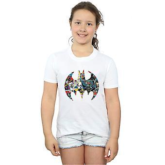 DC Comics meisjes Batman Comic Book Logo T-Shirt