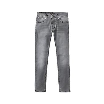 Nudie Jeans Co Tight Terry Skinny Fit Jeans (Mid Grey Pwr)