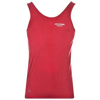 تخويل المرأة ريبوك Crossfit التدريب الدبابات ألعاب رياضية لياقة القميص الأحمر