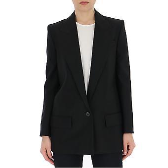 Givenchy Bw308u10ek001 Damen's Schwarze Wolle Blazer