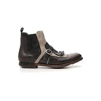 Church's Etg0029qgf0xze Men's Brown Leather Ankle Boots