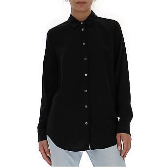 Equipment Q23e900black Women's Black Cotton Shirt