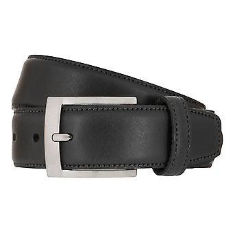 SCHUCHARD & FRIESE belt men's belt leather belt black 7983